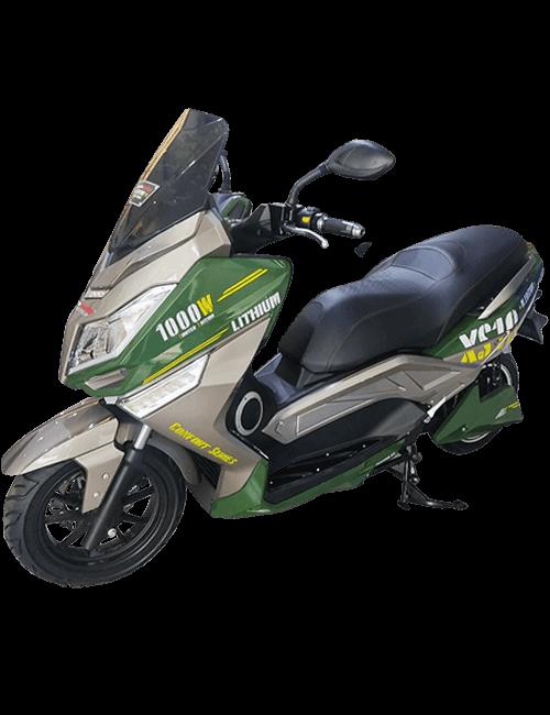 MURASAKI XS10 LIFEPO4 72v 50Ah Confort Series - verde