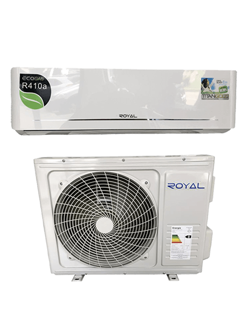 SPLIT 1T R410 220V ROYAL BLANCO
