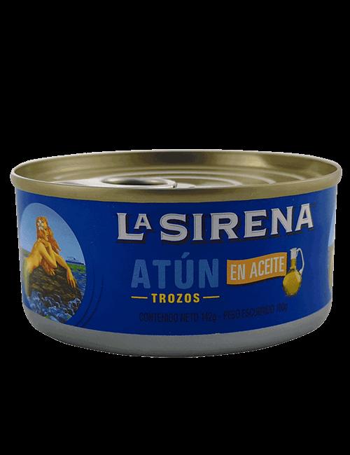 Atun En Lomo La Sirena 142g En Aceite