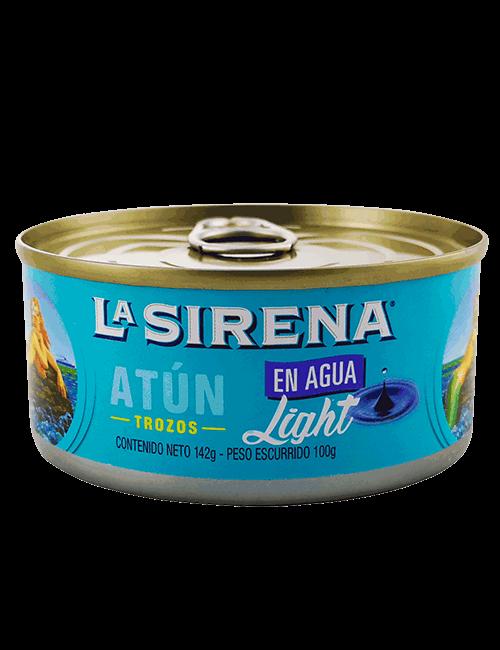Atun En Lomo La Sirena 142g En Agua