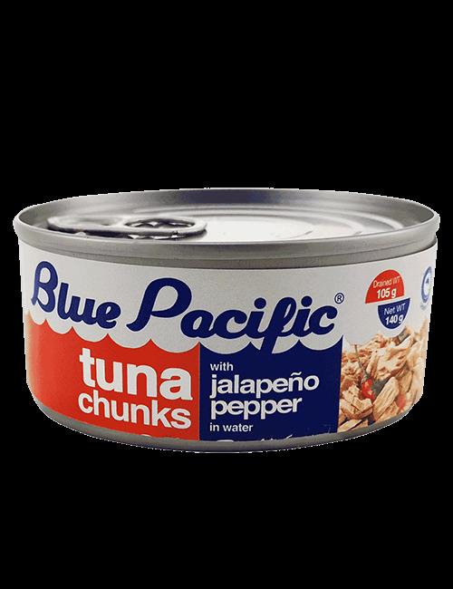 Atun Trozos Blue Pacific 185g Chilies Jalapeño