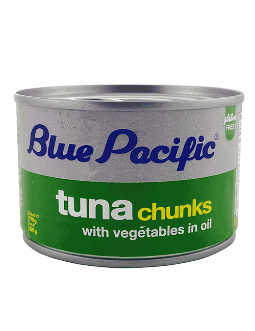 Atun Trozos Blue Pacific 255g Aceite Vegetal
