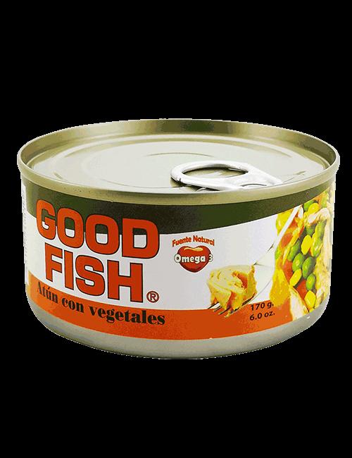 Atun En Trozos Good Fish 170g Con Vegetales