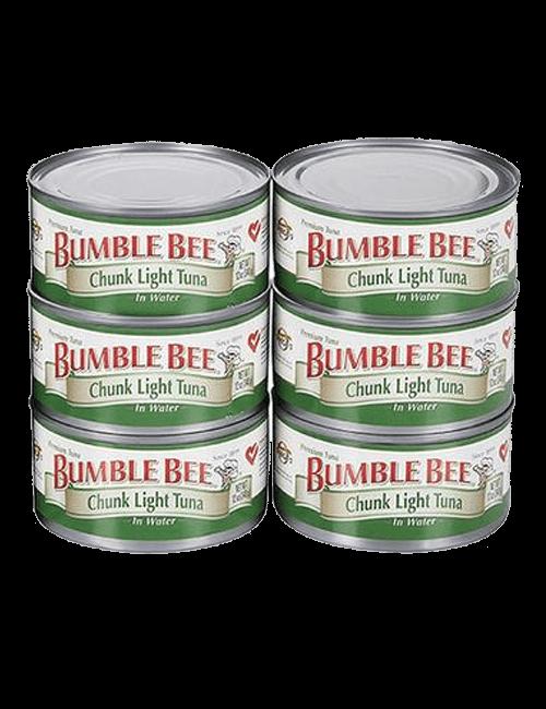Bumble Bee Atún en Agua 6 Unidades/170 g
