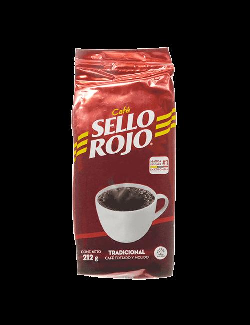 Café Sello Rojo 212 G Tostado Y Molido