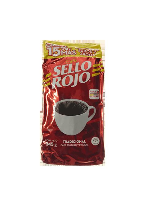 Café Sello Rojo 245 G Tostado Y Molido