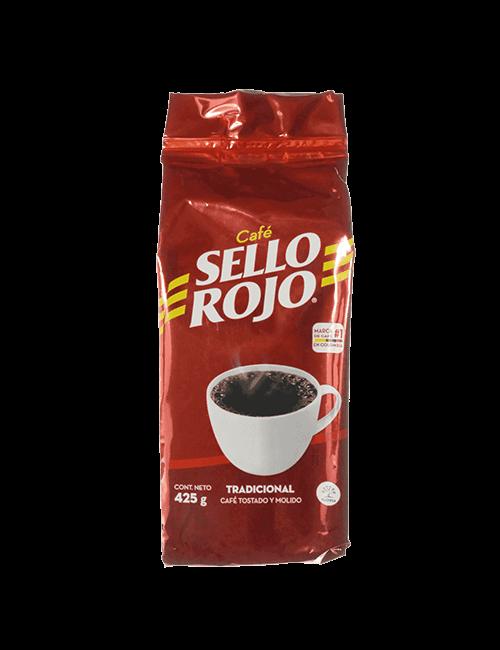 Café Sello Rojo 425 G Tostado Y Molido