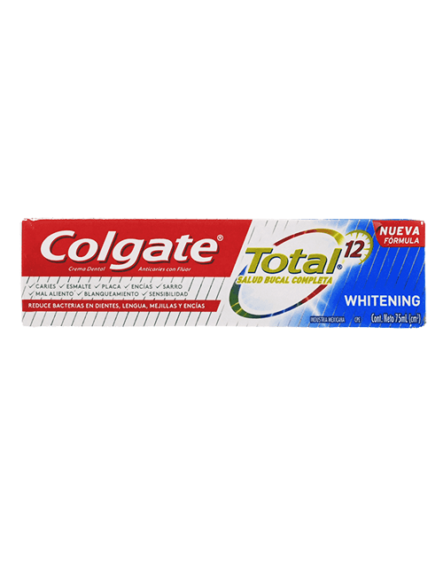 Colgate 75ml Total 12 Withening