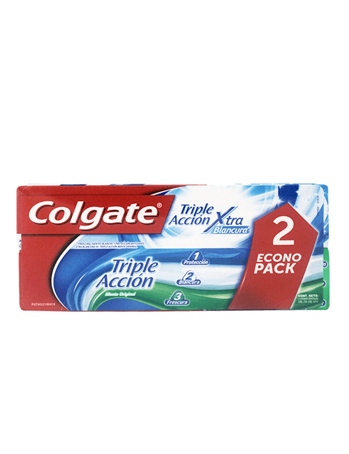 Colgate 75ml Triple Accion Xtra