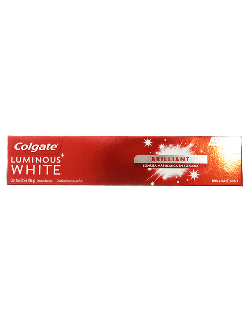 Colgate 125ml Luminous White