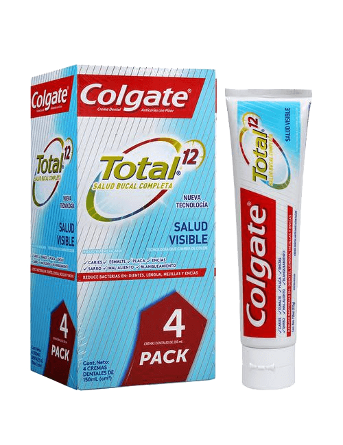 Colgate Total Clean Mint 4 unidades / 150 ml