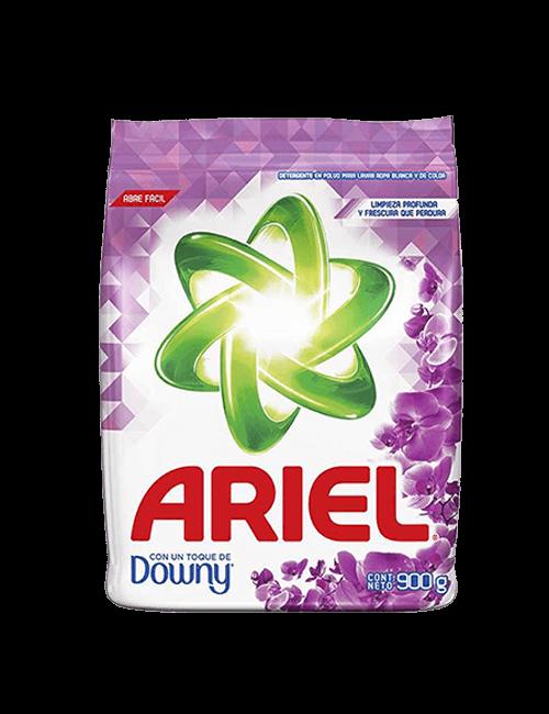 Detergente Para Ropa Ariel 900g Polvo Toque De Downy