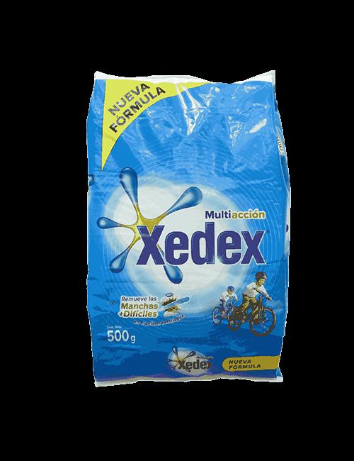 Detergente En Polvo Xedex 500g Multiaccion Limpieza Activa