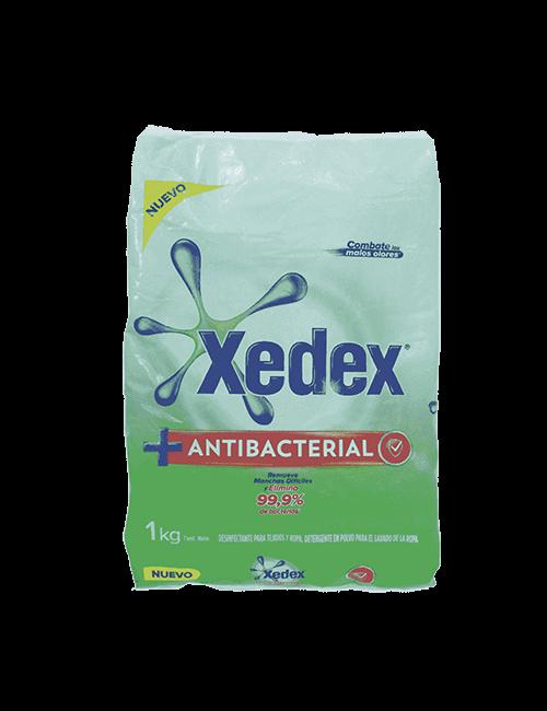 Detergente En Polvo Xedex 1kg Antibacterial