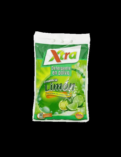 Detergente Para Ropa Super Xtra 900g Polvo, Limon