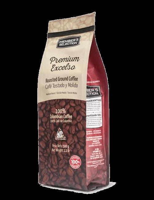 Premium Excelso Café Tostado y Mólido