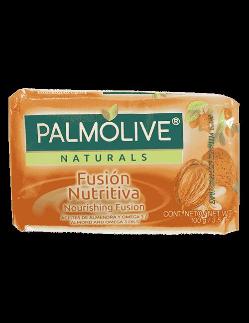 Palmolive Jabón 100g Fusion Nutritiva Almendra Y Omega 3