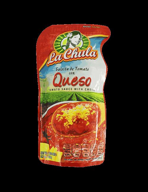 Salsita De Tomate La Chula 106 GR Con Queso