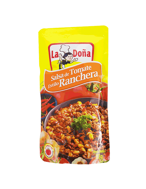 Salsa De Tomate La Doña 114 GR Ranchera