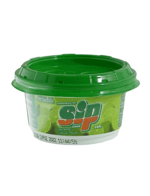 Lavaplatos Crema Sip 240 GR Limon