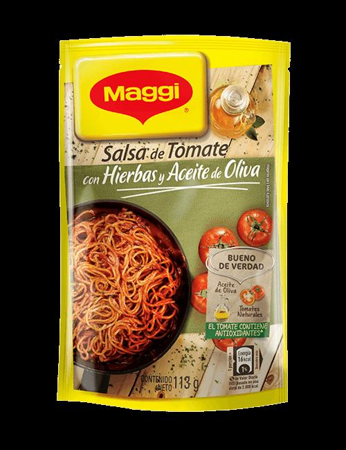 Salsita De Tomate Maggi 113 GR Aceite De Oliva