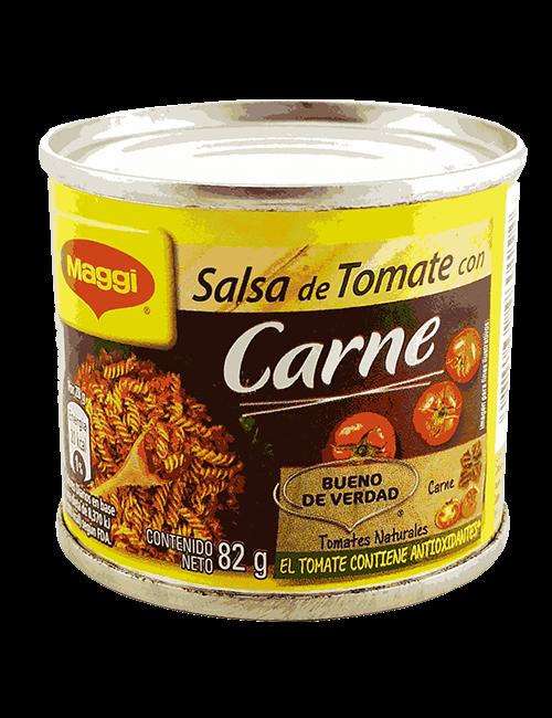 Salsa De Tomate Maggi 82 GR Con Carne