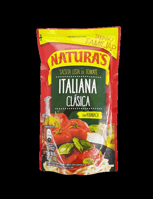 Salsa De Tomate Naturas 400 GR Italian Clasica