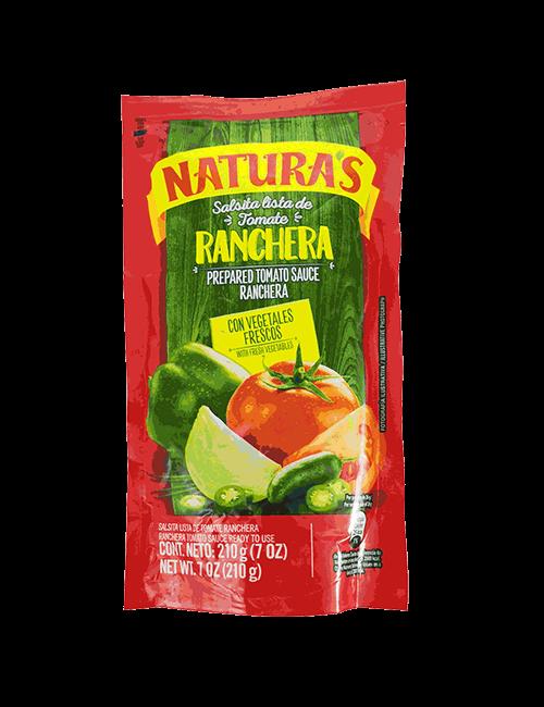 Salsa De Tomate Naturas 210 GR Ranchera