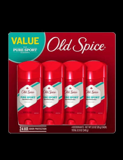 Old Spice Desodorante Deporte 4 unidades