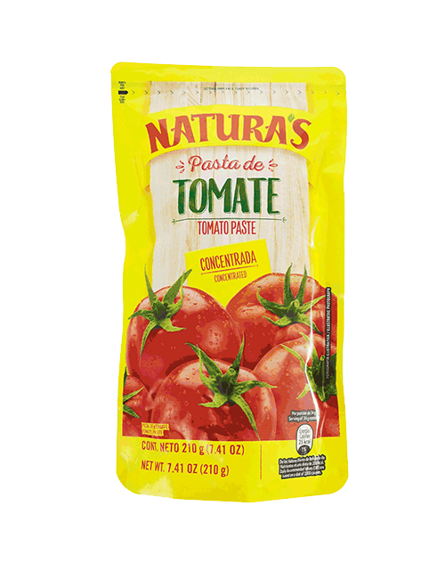 Pasta De Tomate Naturas 210 GR Tradicional