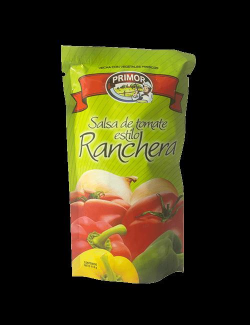 Salsa De Tomate Primor 114 GR Ranchera
