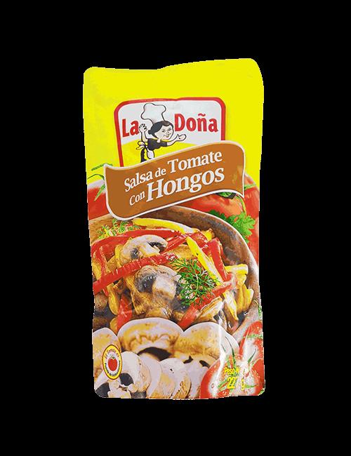 Salsa De Tomate La Doña 227 GR Con Hongo