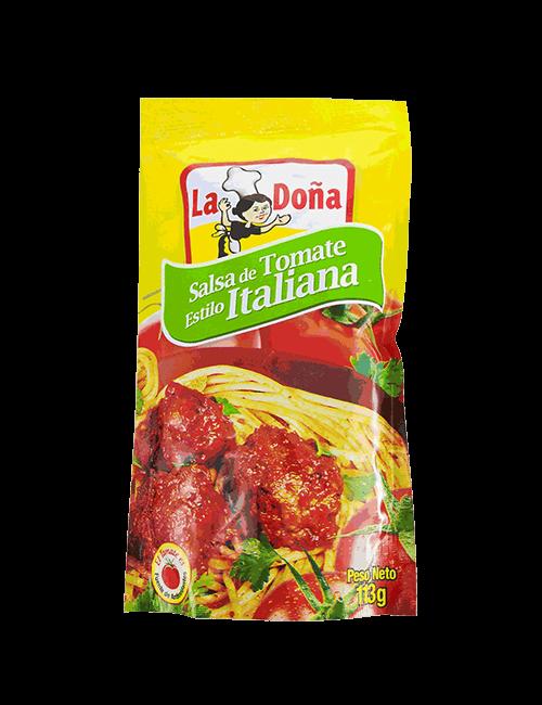 Salsa De Tomate La Doña 114 GR Italiana