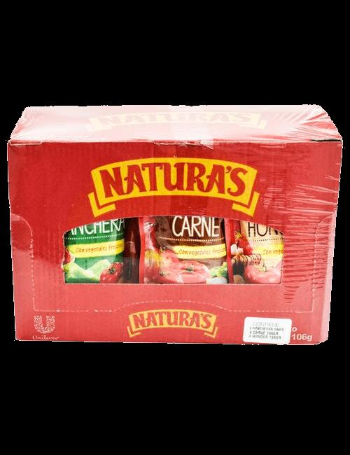 Natura's Salsas Surtidas 12 unidades/ 106 g