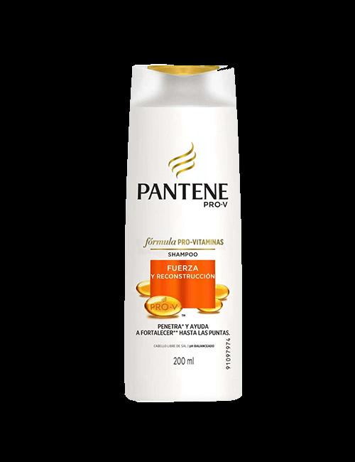 Shampoo Pantene 200ml Fuerza y Reconstrucción