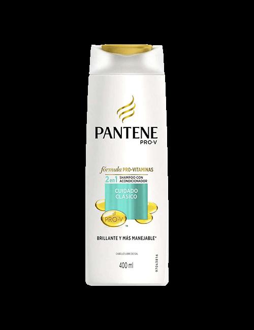 Shampoo Pantene 400ml Pro-V Clásico 2 en 1