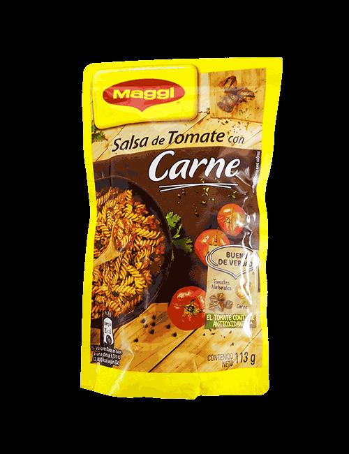 Salsa De Tomate Maggi 113 GR Con Carne