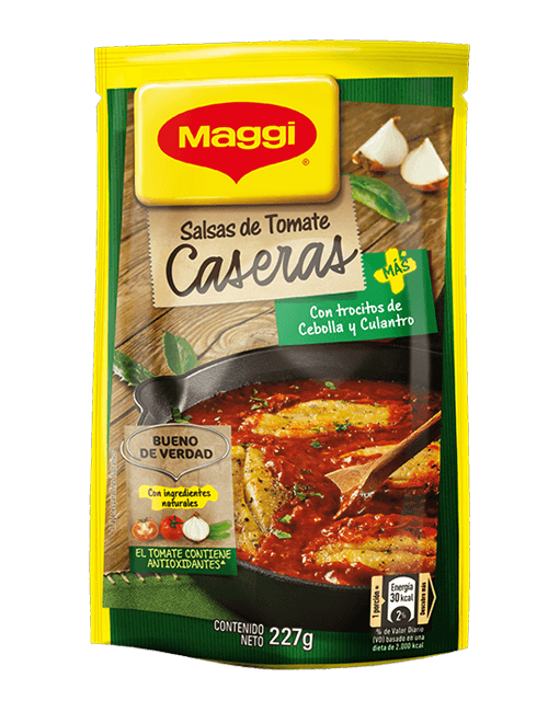 Salsa De Tomate Maggi 227 GR Con Culantro