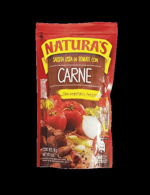 Salsa De Tomate Naturas 106 GR Con Carne