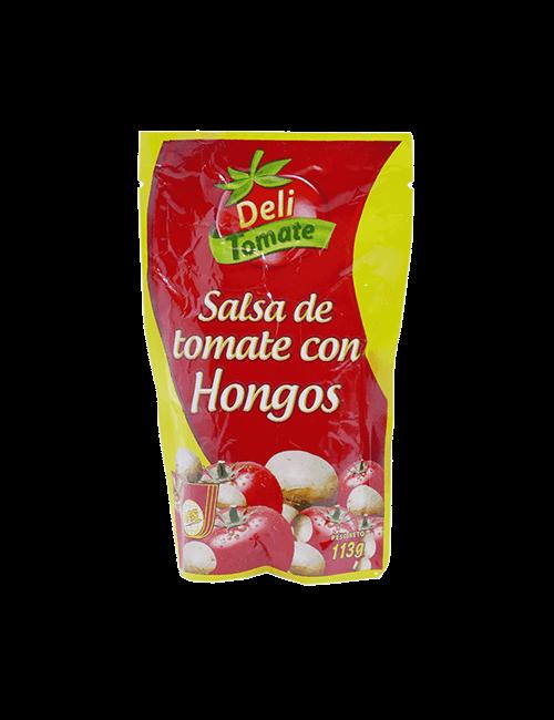 Salsa De Tomate Nhs 113g Con Hongo