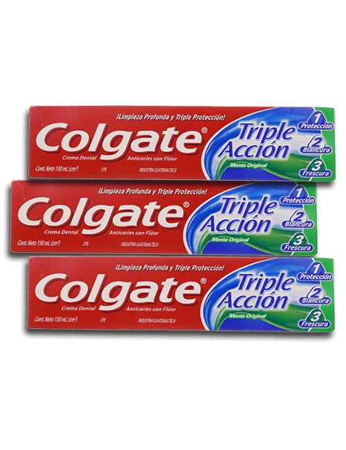 Colgate 150ml Triple Accion