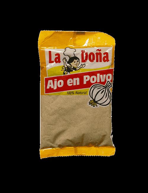 Ajo en polvo La Doña 200g