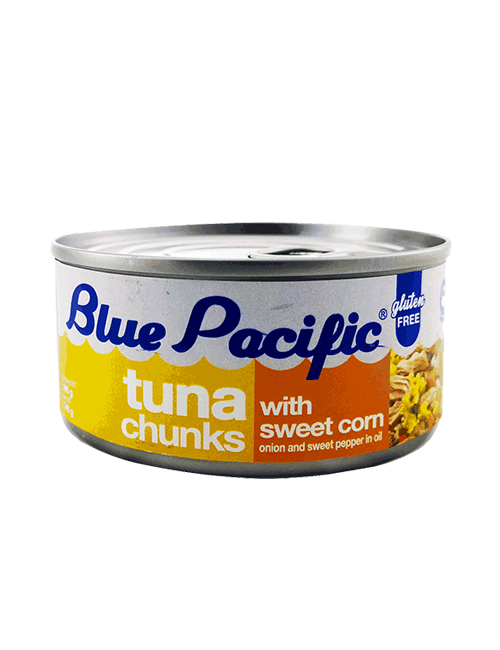 Atun Trozos Blue Pacific 160g Maiz Dulce