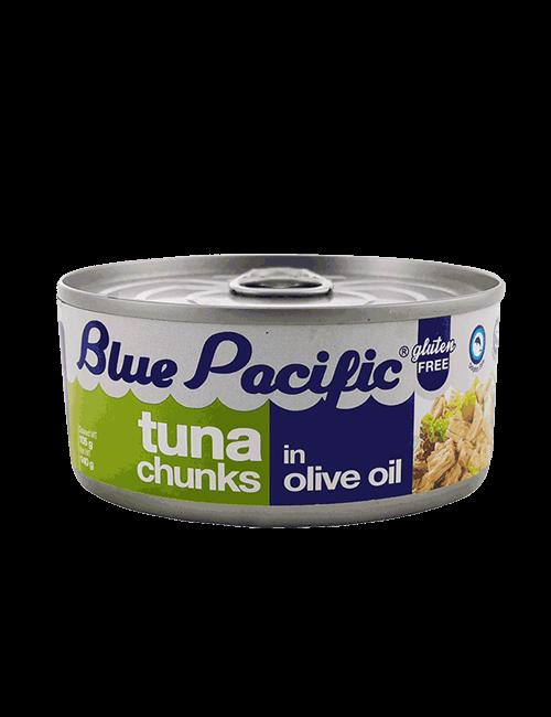 Atun Trozos Blue Pacific 140g Aceite de Oliva