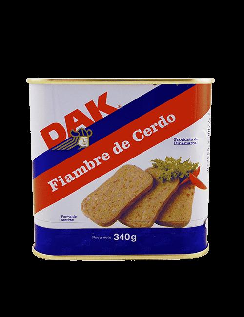 Jamonilla de Cerdo Dak 340g