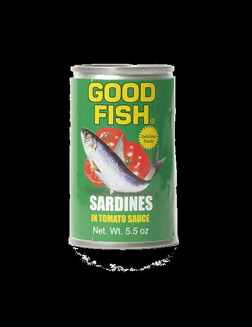 Sardina Good Fish 156g en Tomate
