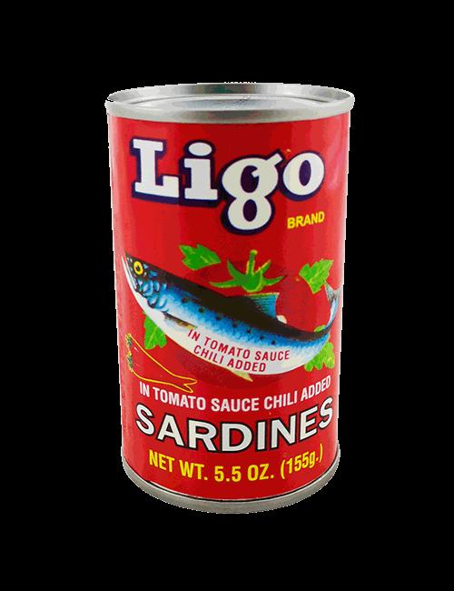Sardina Ligo 156g Tomate Picante