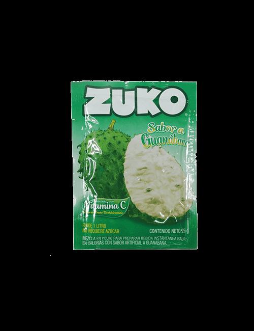 Refresco en Polvo Zuko 25g Guanabana