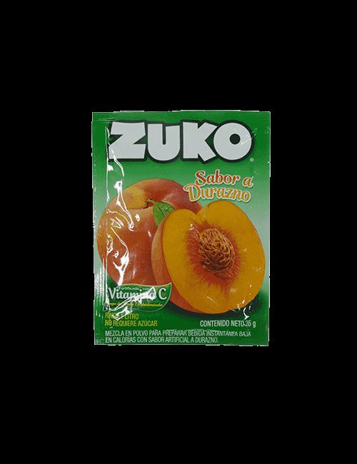 Refresco en Polvo Zuko 25g Durazno