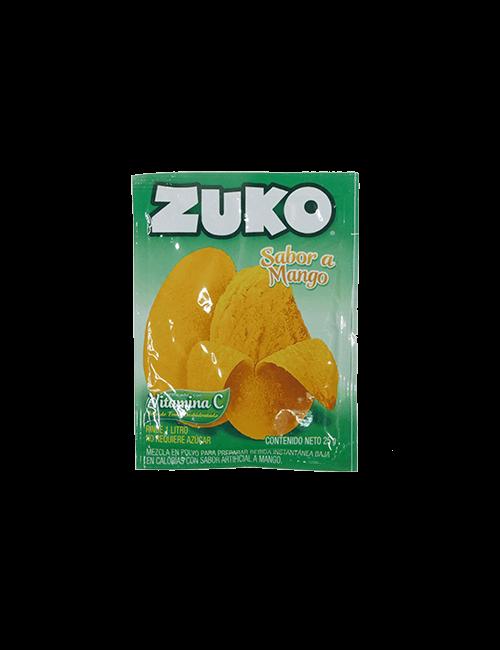 Refresco en Polvo Zuko 25g Mango